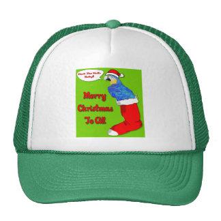 Bebé de las Felices Navidad Gorros