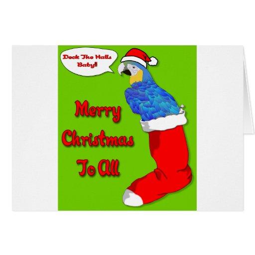 Bebé de las Felices Navidad Tarjeta De Felicitación