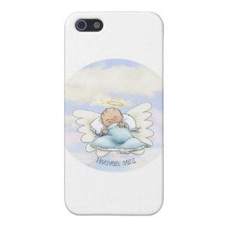 Bebé de Litlle - ángel enviado desde arriba iPhone 5 Coberturas