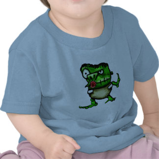 Bebé de los frankensteins del monstruo de Lil Camisetas