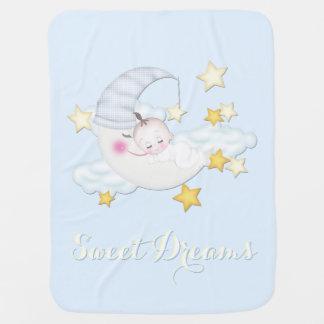 Bebé de los sueños dulces manta de bebé