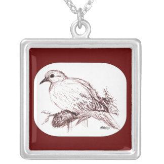 Bebé de luto de la paloma joyerias personalizadas
