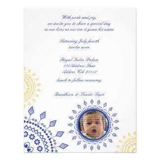 Bebé de Namkaran que nombra invitaciones Comunicado