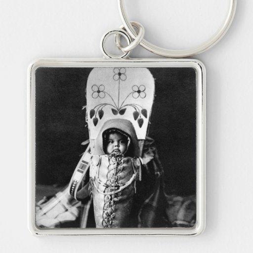 Bebé de Nez Perce Llavero Personalizado