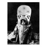Bebé de Nez Perce Tarjeta Postal