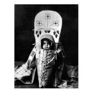 Bebé de Nez Perce Tarjetas Postales
