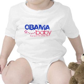 Bebé de Obama - Barack para Prez 08 - modificado p Camisetas