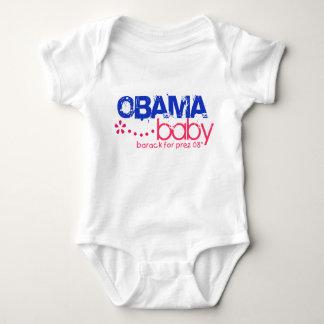 Bebé de Obama - Barack para Prez 08 - modificado Playeras