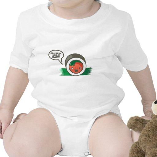 Bebé de Ooh del Sushi de Kawaii tengo gusto de él Trajes De Bebé
