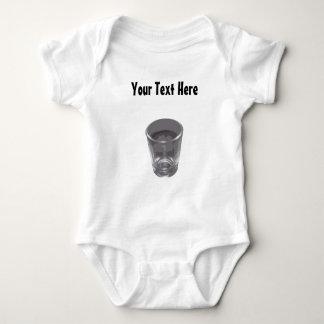 Bebé de plata adaptable del vaso de medida polera