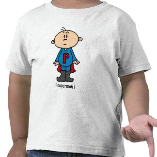 Bebé de Pooperman Camisetas