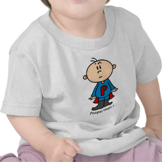 Bebé de Pooperman Camiseta