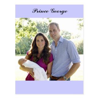 Bebé de príncipe George Kate Guillermo Royal Postal