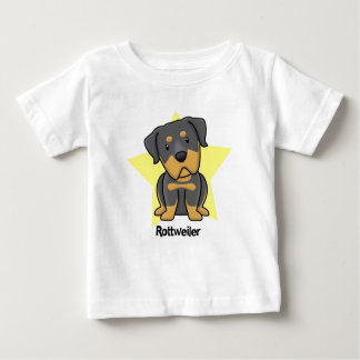 Bebé de Rottweiler de la estrella de Kawaii Camisas