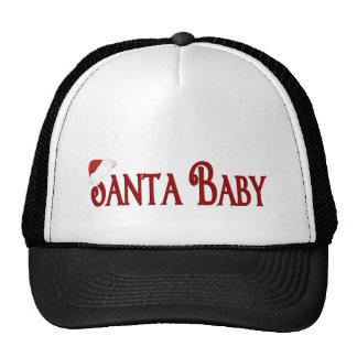 Bebé de Santa Gorras De Camionero