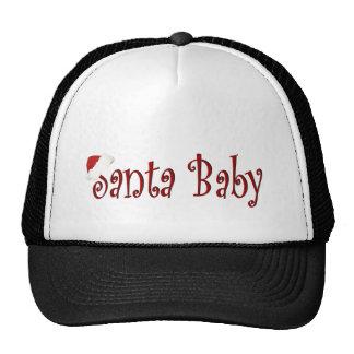 Bebé de Santa Gorros Bordados