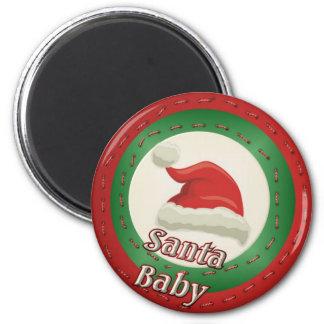Bebé de Santa Imán Redondo 5 Cm