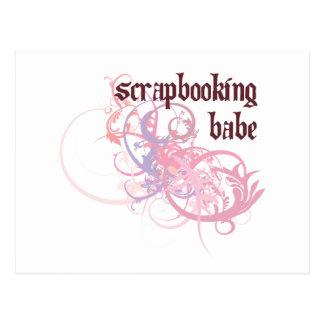 Bebé de Scrapbooking Tarjetas Postales