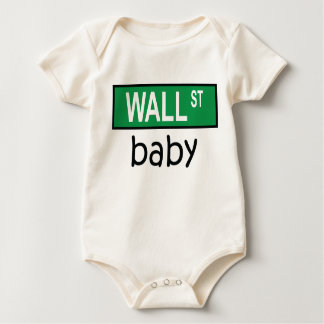 Bebé de WALL STREET - camiseta Body De Bebé
