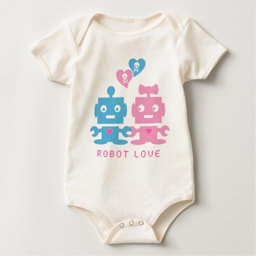 Bebé del amor del robot enteritos