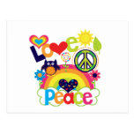 Bebé del amor y de la paz tarjeta postal