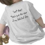 Bebé del ancla camisetas