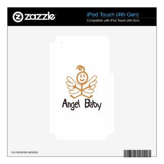 Bebé del ángel iPod touch 4G skins