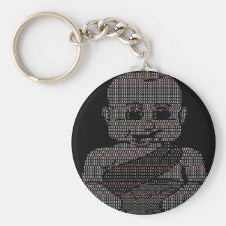 Bebé del ASCII Llavero
