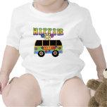 Bebé del autobús del Hippie Camisetas