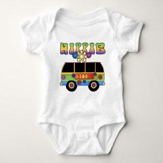 Bebé del autobús del Hippie Poleras