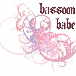 Bebé del Bassoon Adorno Fotoescultura