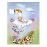 Bebé del bautizo del bautismo tarjeta postal