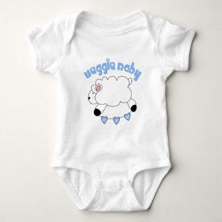 Bebé del bebé del Veggie Mameluco De Bebé