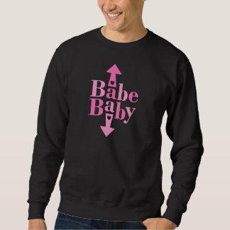 Bebé del bebé sudadera