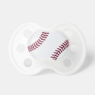 Bebé del béisbol chupete