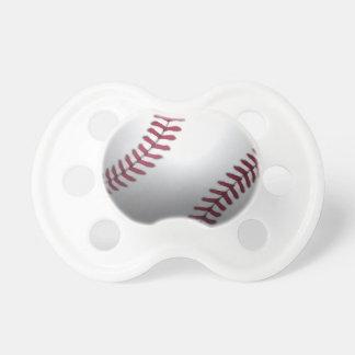 Bebé del béisbol chupete de bebé