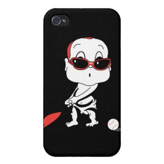 bebé del béisbol iPhone 4/4S carcasas
