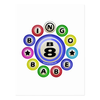 Bebé del bingo B8 Tarjetas Postales
