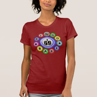 Bebé del bingo I69 Camiseta