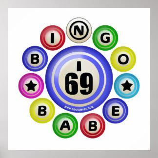 Bebé del bingo I69 Póster