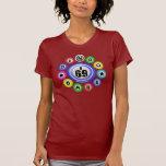 Bebé del bingo I69 T-shirts