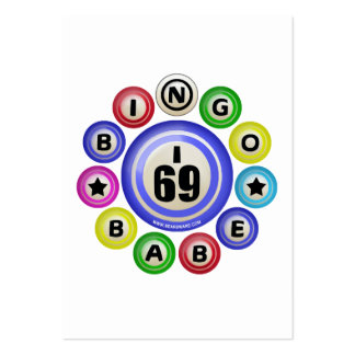Bebé del bingo I69 Tarjetas De Visita Grandes