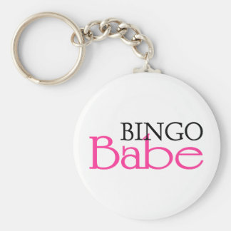 Bebé del bingo llavero redondo tipo pin