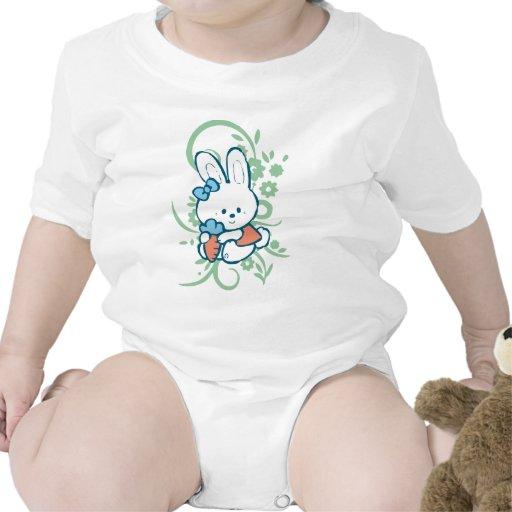 Bebé del conejito de la zanahoria traje de bebé