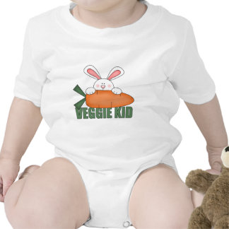 Bebé del conejo del niño del Veggie Camiseta