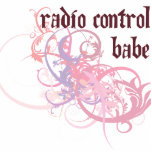 Bebé del control de radio escultura fotográfica