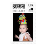 Bebé del cumpleaños sello