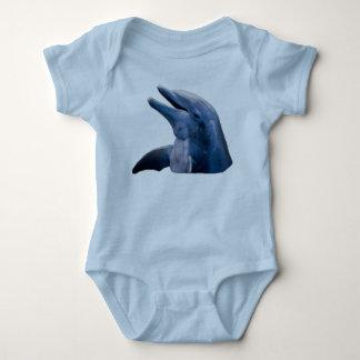 Bebé del delfín remeras