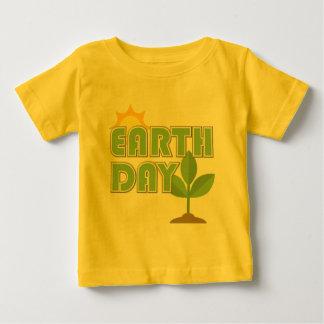 Bebé del Día de la Tierra Playera