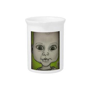 Bebé del dibujo animado jarrones